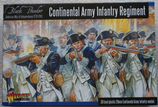 Warlord Games 28mm WGR-AWI-04 Continental Army Infantry Regiment